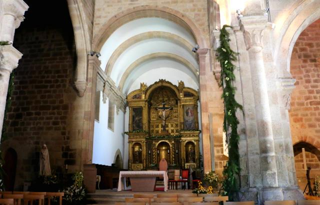 Interior de la Sé de Vila Real - Destino y Sabor