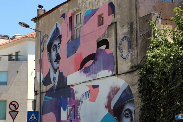 Murales de Vila Real en el casco histórico - Destino y Sabor
