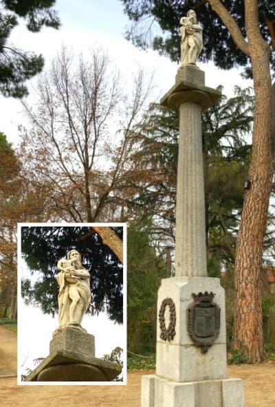 Obelisco dedicado a Saturno en la Rueda - Destino y Sabor