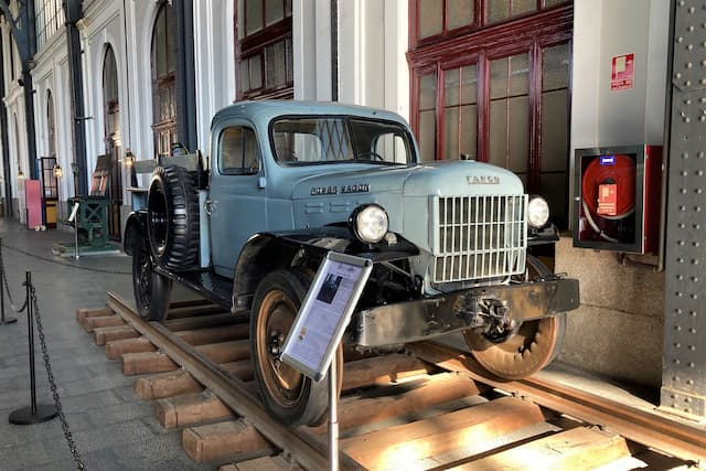 Museo de Ferrocarril de Madrid