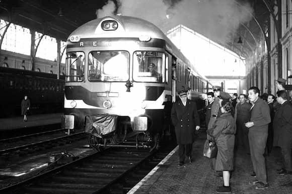 Estación de las Delicias en los años 60s del siglo XX - Imagen de Mikel Jude