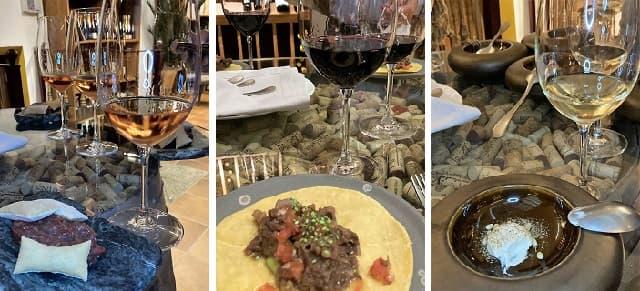 Degustación de tapas y vinos en la Cava del Hotel La Caminera - Destino y Sabor