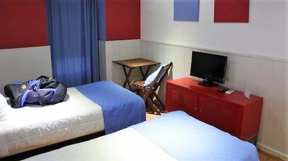 Habitación del Hotel rural Posada Aloque - Destino y Sabor