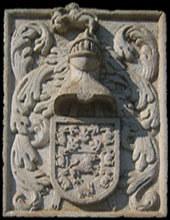 Escudo de armas de Don António José Botelho Mourão - Imagen de Casa de Mateus